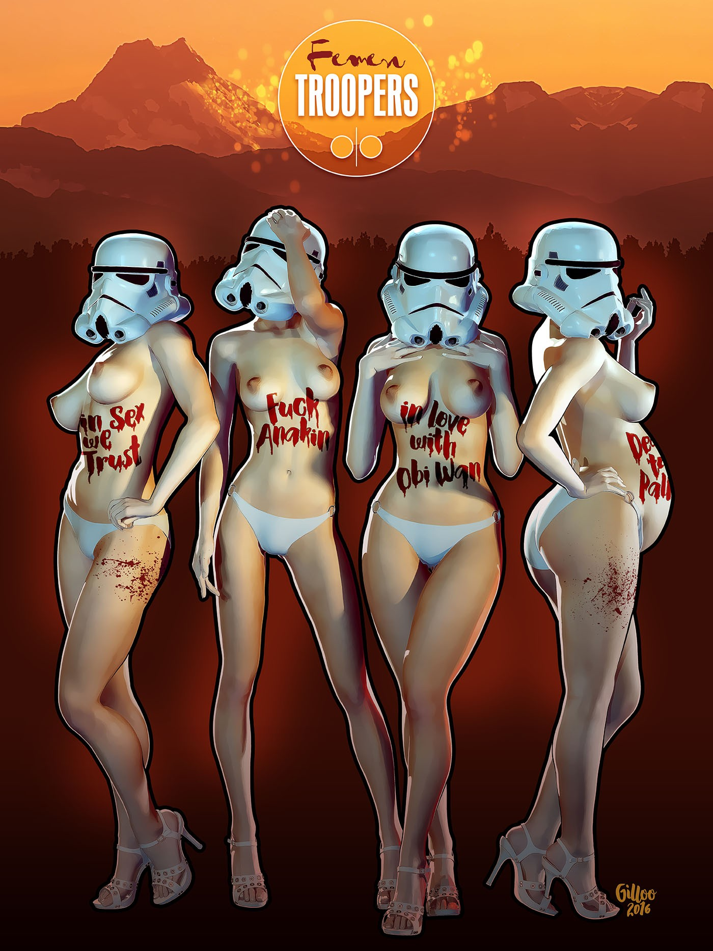 Femen Troopers in action